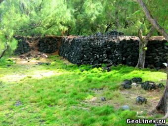 Mauritius Island pyramids